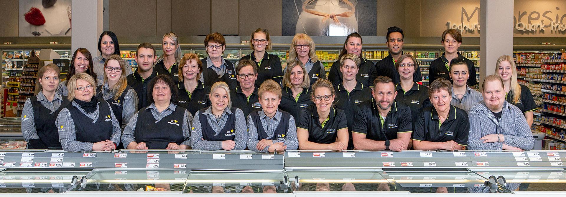Das Team Von EDEKA Kredler in Vilseck