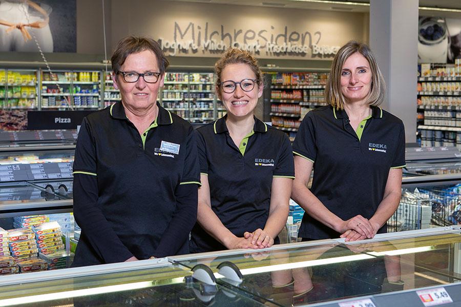 Marktinhaberin Kathrin Kredler-Liermann
